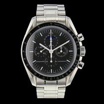 Omega Speedmaster Professional Moonwatch Moonphase Stahl Schwarz Schweiz, Nyon (Genéve)