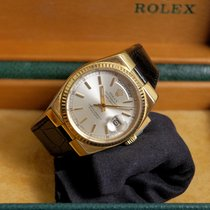 Rolex Day-Date Oysterquartz Yellow gold Champagne No numerals United States of America, Indiana, goshen