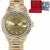 Rolex Lady-Datejust Yellow gold 26mm Champagne United States of America, New York, Huntington