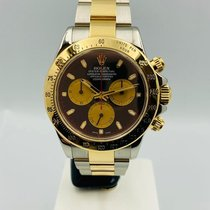 Rolex Daytona 116523 Very good Gold/Steel 40mm Automatic