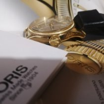 Oris Yellow gold Automatic White Arabic numerals 38.5mm pre-owned