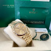 Rolex Day-Date 36 Yellow gold 36mm Champagne No numerals United States of America, New Jersey, Totowa