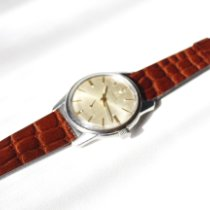 Lemania Steel 36mm Automatic pre-owned