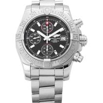 Breitling Avenger II Steel 43mm Black No numerals United States of America, New Jersey, Edgewater