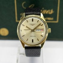 Longines Yellow gold Automatic Admiral pre-owned United States of America, Massachusetts, West Boylston