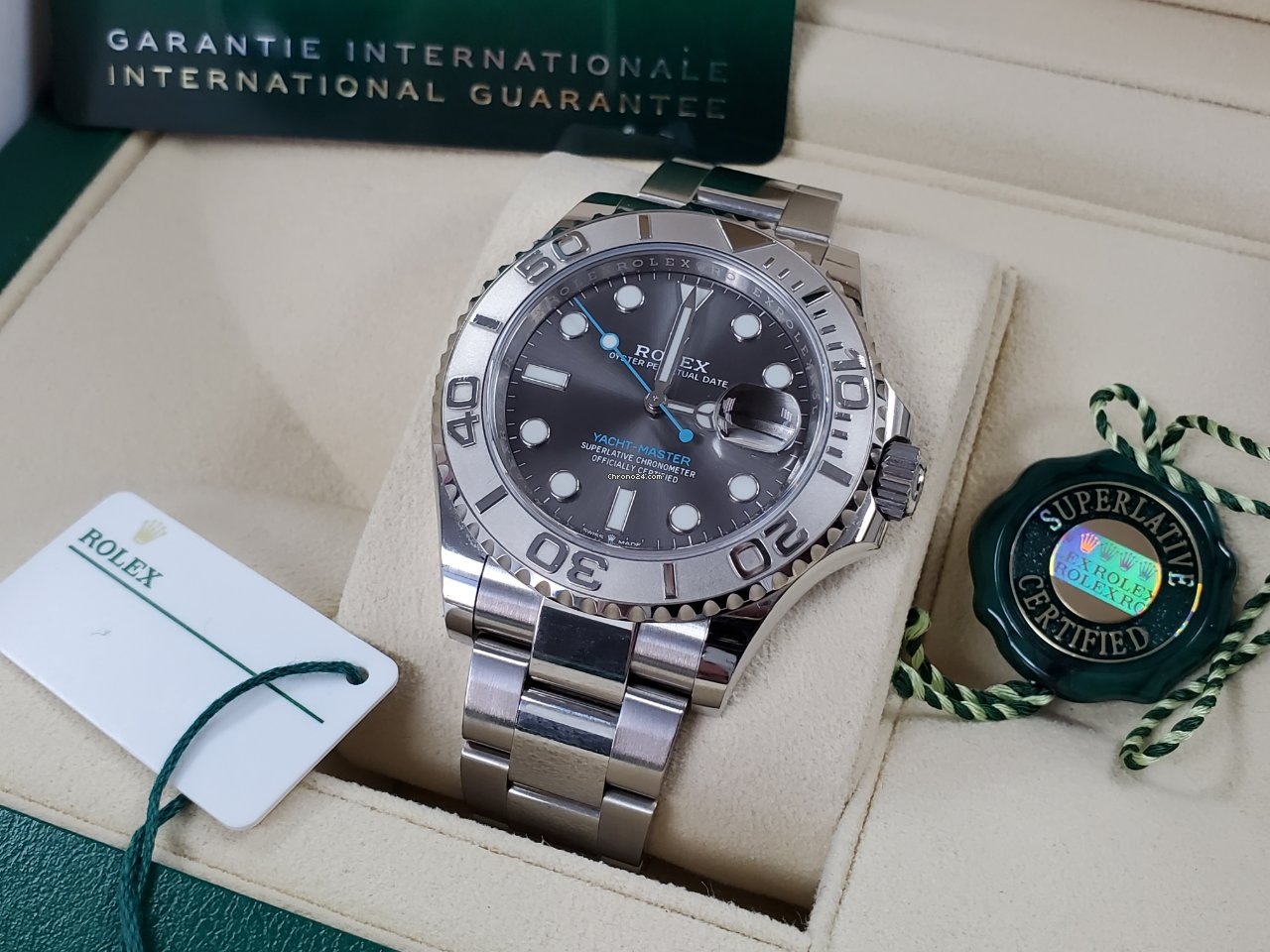 Rolex Yacht-Master 40 126622 2020 pre-owned