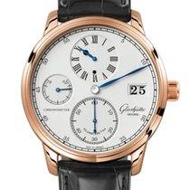 Glashütte Original Senator Chronometer Regulator Rose gold 42mm Silver Roman numerals