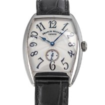 Franck Muller Cintrée Curvex White gold 32mm Silver Arabic numerals United States of America, Maryland, Baltimore, MD