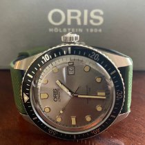 Oris Divers Sixty Five Steel 42mm Silver No numerals United States of America, Alabama, brewton