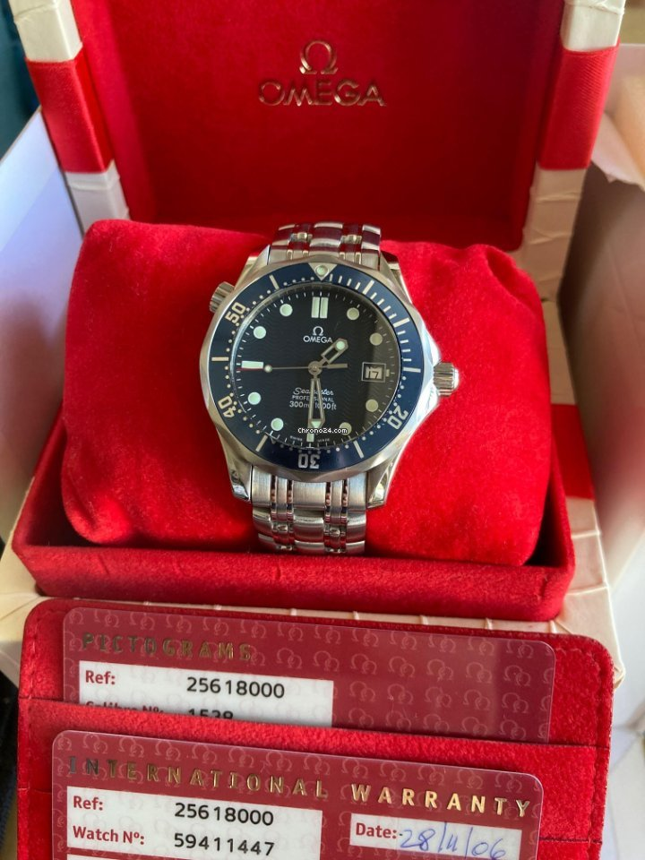 Omega Seamaster Diver 300 M 2561.80.00 2006 pre-owned
