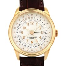 Alfred Dunhill Yellow gold 42mm Automatic DCB458BL pre-owned