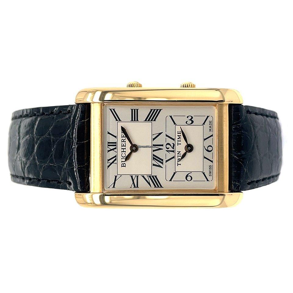 Carl F. Bucherer Bucherer Twin Time Quartz Watch подержанные