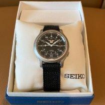Seiko 5 Steel 37mm Black Arabic numerals United States of America, California, Bay Area