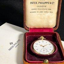 Patek Philippe Horloge tweedehands 1910 Geelgoud 47mm Arabisch Horloge met originele doos