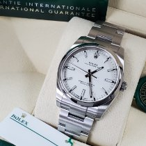 Rolex Oyster Perpetual 34 Steel 34mm Champagne Arabic numerals United States of America, California, Los Angeles