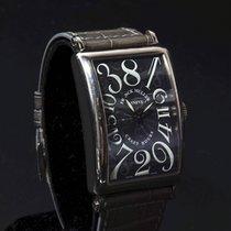 Franck Muller Crazy Hours Pозовое золото 32mm Черный Aрабские