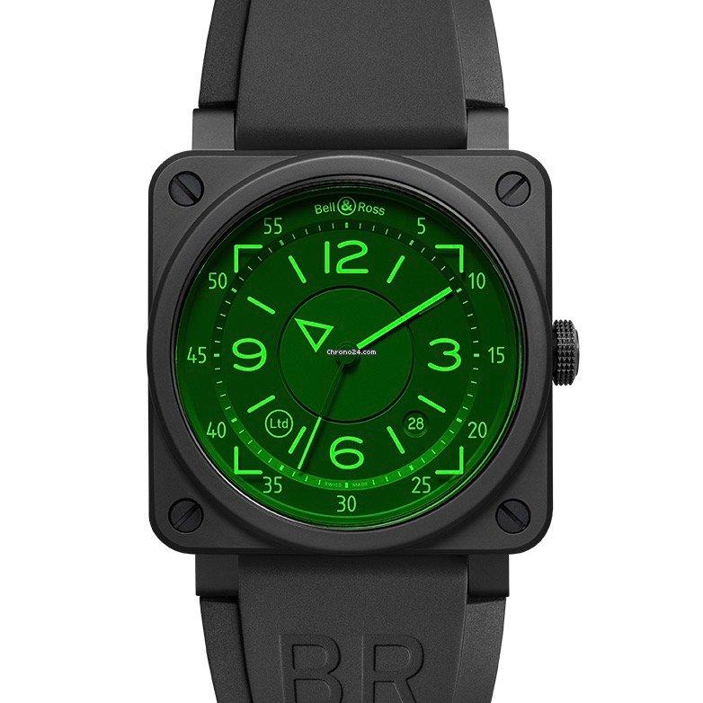Bell & Ross BR 03 BR0392-HUD-CE/SRB 2021 новые