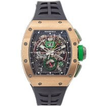 Richard Mille Rose gold 50mm Automatic RM 11-01 pre-owned