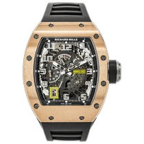 Richard Mille Rose gold 50mm Automatic RM 030 RG pre-owned