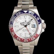 Rolex 126719BLRO Weißgold 2021 GMT-Master II 40mm neu