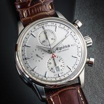 Alpina Alpiner Сталь 41mm Черный Без цифр
