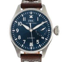 IWC Big Pilot Steel 46.5mm Blue