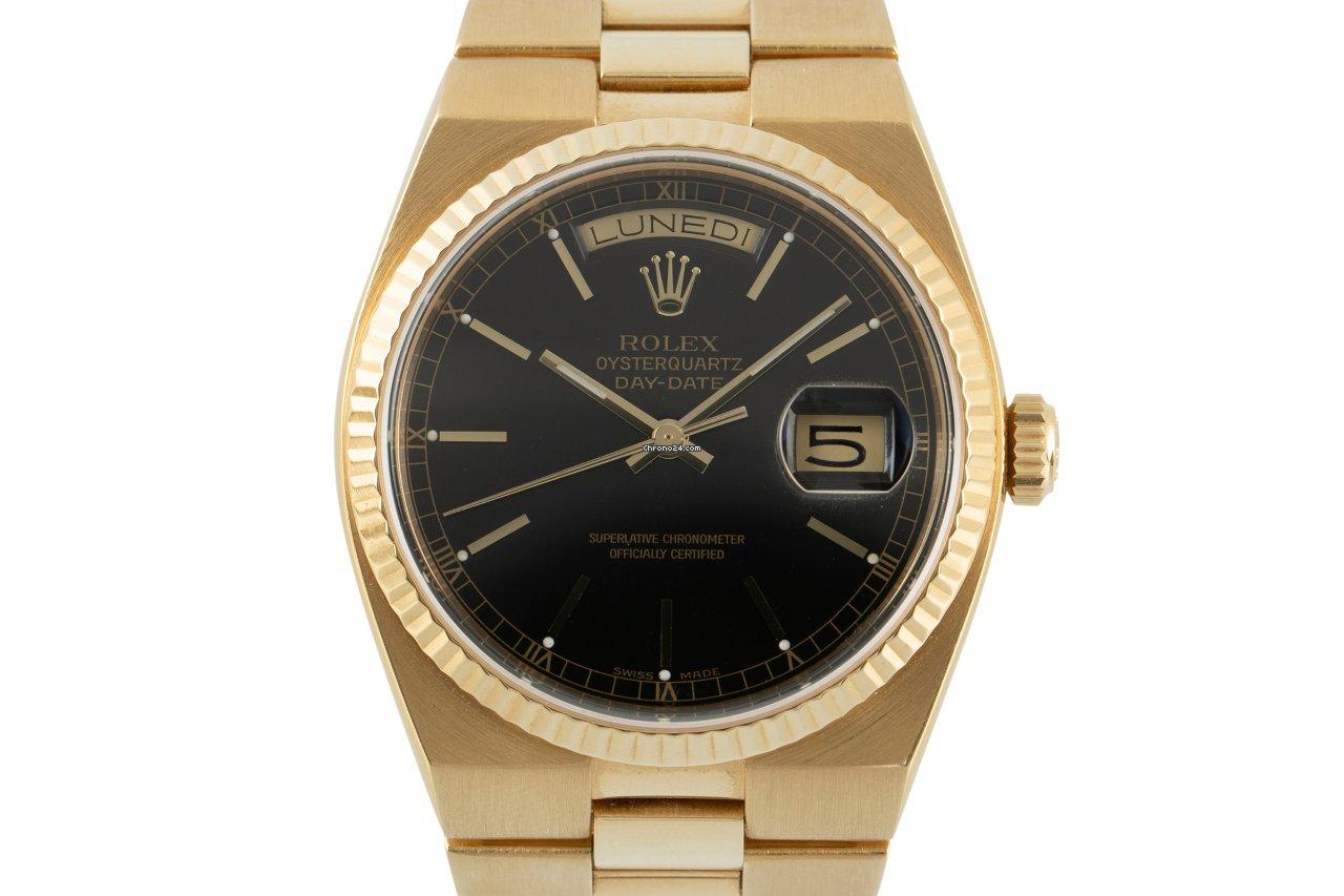 Rolex Day-Date Oysterquartz 19018N 1986 tweedehands