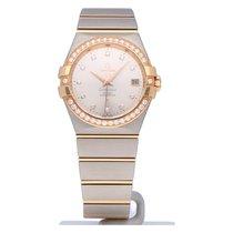 Omega Constellation Ladies новые 2021 Автоподзавод Часы с оригинальными документами и коробкой 123.25.35.20.52.001