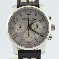 Montblanc Steel 42mm Automatic Timewalker pre-owned