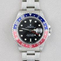 Rolex 16710 Steel 2001 GMT-Master II 40mm pre-owned United Kingdom, Farnham
