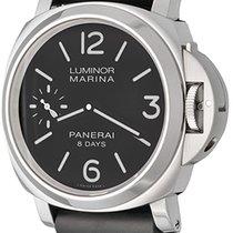 Panerai Luminor Marina 8 Days Steel 44mm Black Arabic numerals United States of America, Texas, Dallas