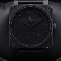 Bell & Ross BR 03-92 Steel Сталь 42mm Черный