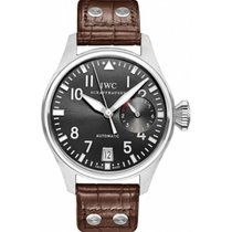 IWC IW500402 White gold Big Pilot 46mm pre-owned