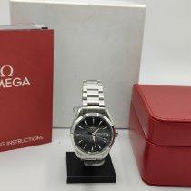 Omega Seamaster Aqua Terra Acier 43mm Noir Sans chiffres France, Saint Germain en Laye