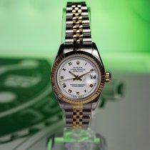 Rolex Lady-Datejust Gold/Steel 26mm White No numerals