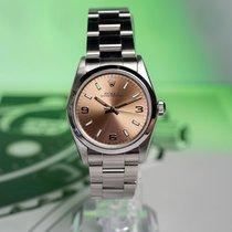 Rolex Oyster Perpetual 31 Steel 31mm Bronze Arabic numerals