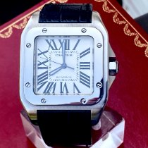 Cartier Santos 100 Steel 38mm White Roman numerals United States of America, New York, Brooklyn