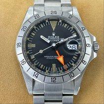 Rolex Explorer II Stål 40mm Svart Ingen tall