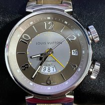 Louis Vuitton Steel 41mm Automatic Q1152 pre-owned