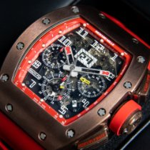 Richard Mille Bronze Automatic Transparent Arabic numerals 50mm pre-owned RM 011
