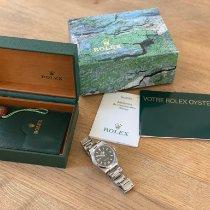 Rolex Explorer Stahl 36mm Schwarz Arabisch Schweiz, Carouge
