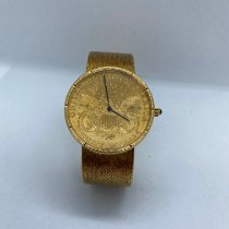 Corum Coin Watch Yellow gold 36mm Gold (solid) No numerals