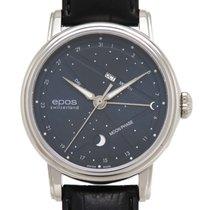 에포스 중고시계 자동 41mm 파란색