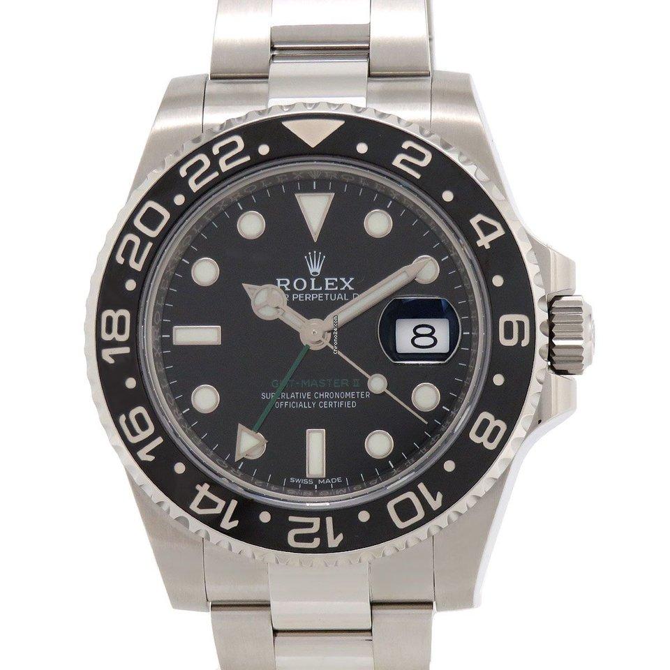 Rolex (ロレックス) GMT マスター II 116710LN 新品