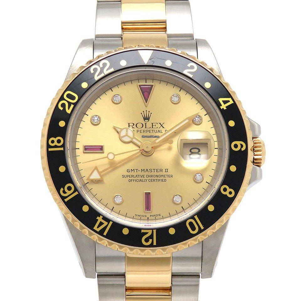 Rolex (ロレックス) GMT マスター II 16713RG 中古