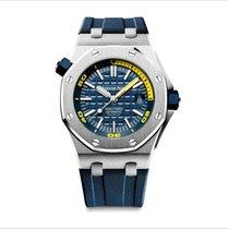 Audemars Piguet Royal Oak Offshore Diver Steel 42mm Blue No numerals