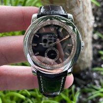 Rolex Cellini pre-owned 38mm Black Crocodile skin