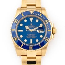 Rolex Submariner Date Yellow gold 40mm Blue No numerals United States of America, Florida, Hollywood
