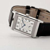Jaeger-LeCoultre Reverso Classique Steel 42.9mm Silver Arabic numerals United States of America, New Jersey, Oradell