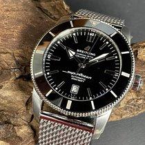 Breitling Superocean Heritage II 46 Сталь 46mm Черный